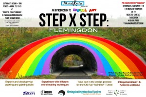 Step x Step: Flemingdon, Introduction to Mural Arts