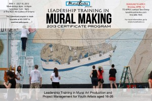 Leadership Training in Mural Making 2013: Call for Applicants