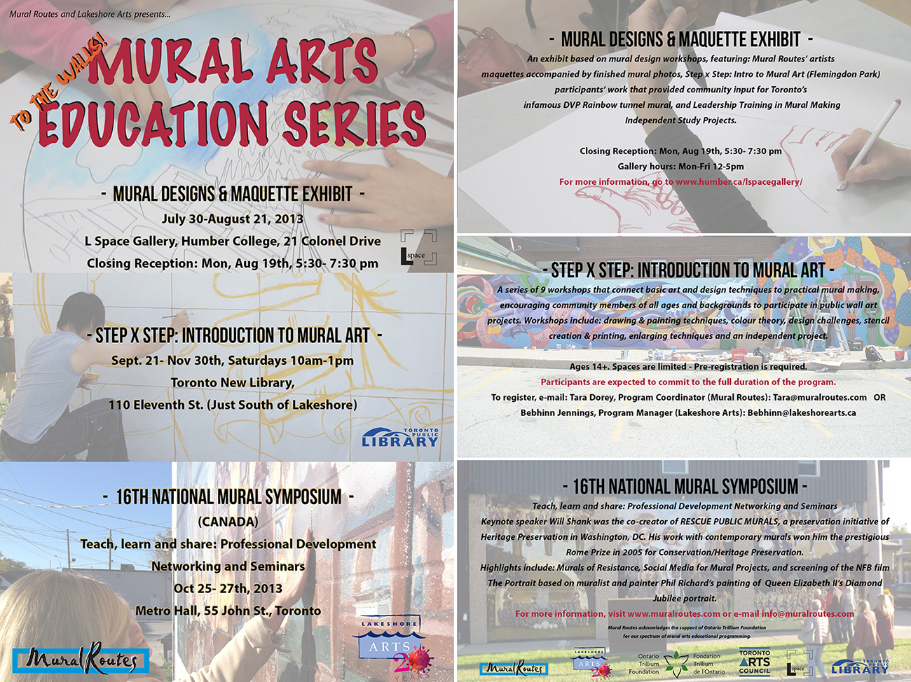 To The Walls! Mural Arts Education Series