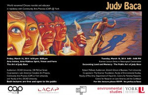 LA Muralist and Educator Judy Baca Lectures in Toronto