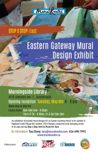 Eastern Gateway Mural Designs Exhibit