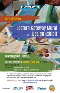 Eastern Gateway Mural Designs Exhibit