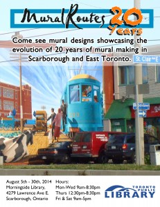 20 Years of Murals – Exhibit