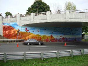 Western Gateway Mural Unveiling