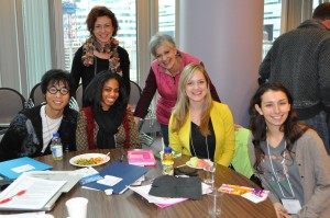 CONTINUUM participants and other emerging artists had opportunity to volunteer, learn and network at the National Mural Symposium in Oct 2014.
