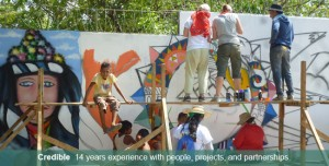 You can help us send an artist to Nicaragua!