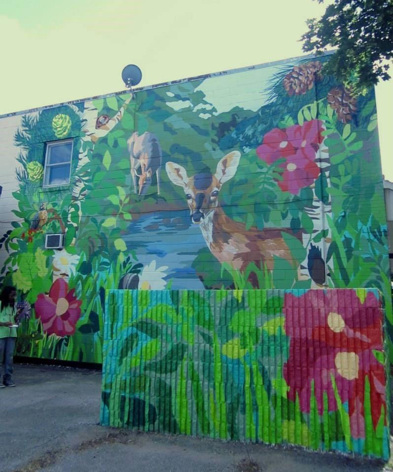 Creekside: Eastern Gateway Mural