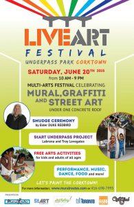 LIVE ART FESTIVAL – JUNE 20th