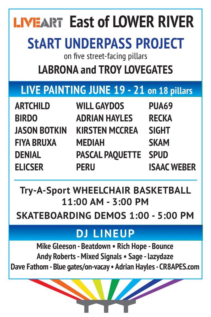 Live Art Festival - East Side Details