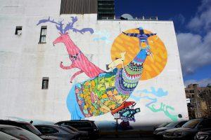 Piliriqatigiingniq Mural Project 2015 (PA System's Embassy of Imagination)