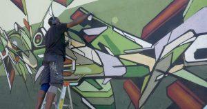 TERRA STRAT'AA Underpass Mural by Mediah