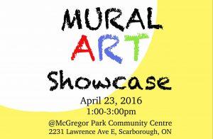 Mural Art Showcase- April 23