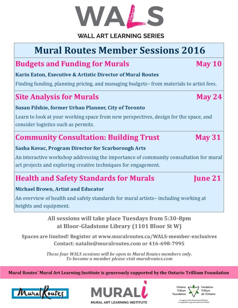 WALS Member Sessions Poster - NEW